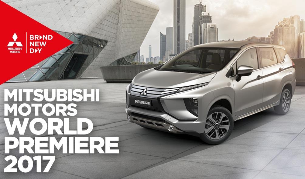 Mitsubishi Motors World Premier Small MPV 2017