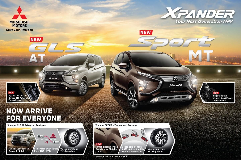 Mitsubishi Luncurkan Varian dan Warna Terbaru Mitsubishi Xpander