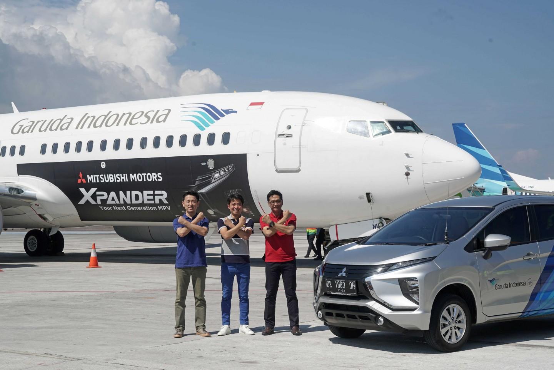 Mitsubishi Xpander Terbang Tinggi Bersama Garuda Indonesia