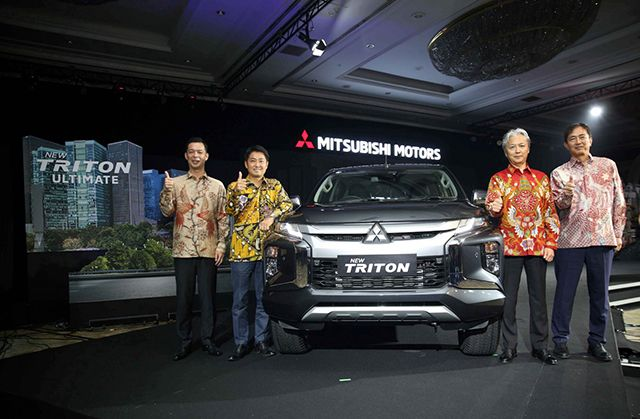 MMKSI PERKENALKAN NEW TRITON UNTUK PASAR INDONESIA