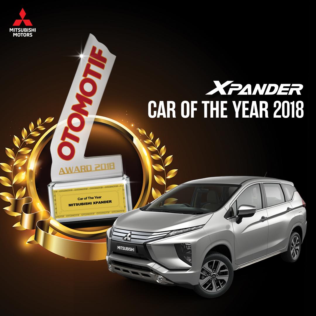 """Xpander Raih """"Car of the Year"""" 2018"""