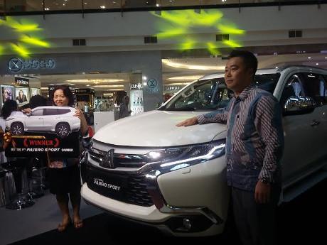 Ini Konsumen Mitsubishi yang Beruntung Dapatkan All New Pajero Gratis