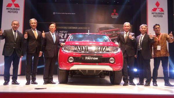Belum 10 Hari Diluncurkan, Mitsubishi Triton Dipesan 2.154 Unit