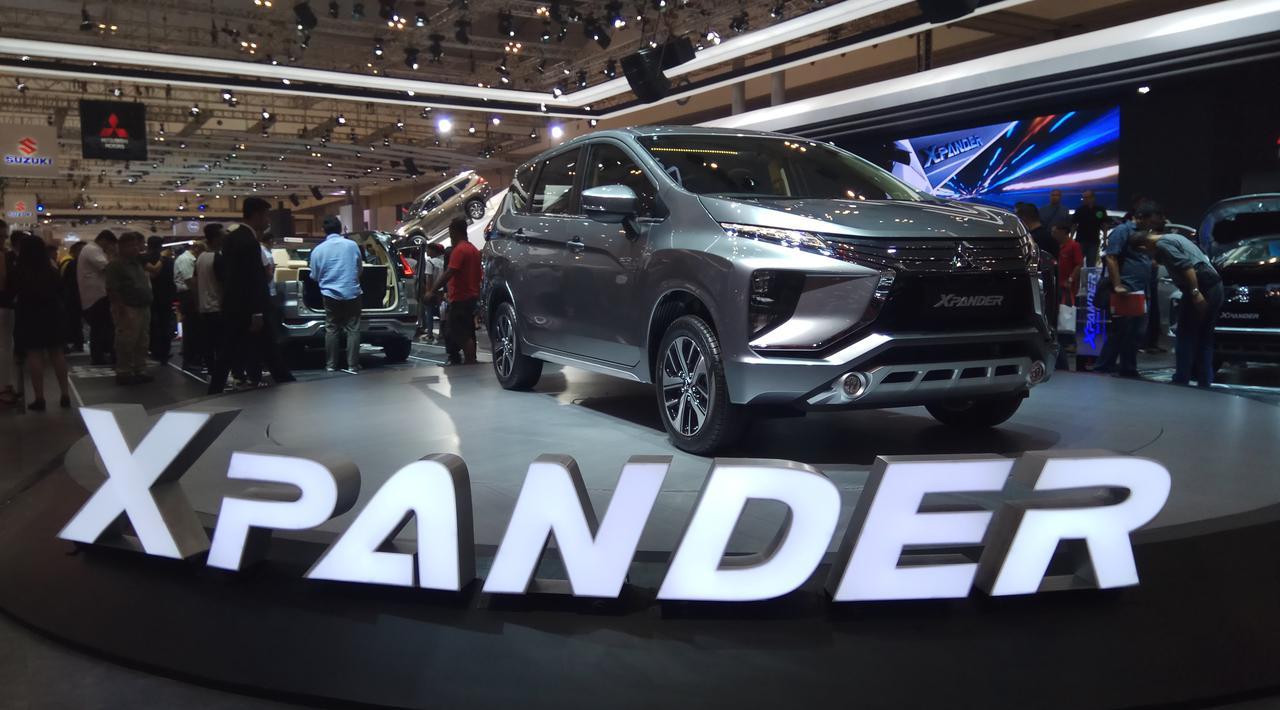 Laku Keras, Mitsubishi Xpander Juga Paling Favorit di GIIAS 2017