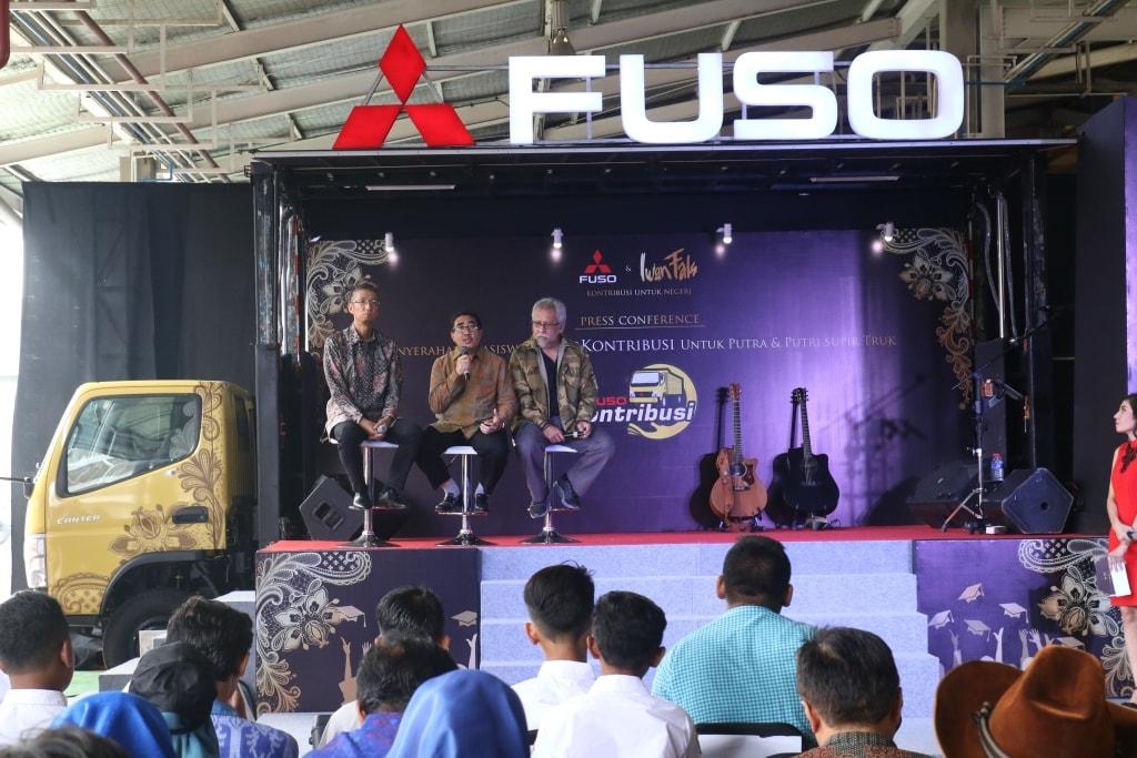 Mitsubishi Fuso Lanjutkan Program #Fusokontribusi untuk Semarakkan Hari Kemerdekaan Indonesia yang Ke-73