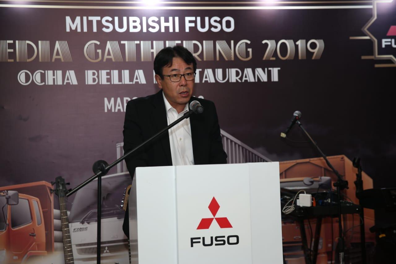 KTB TARGETKAN PANGSA PASAR 45% DAN 55.000 UNIT TRUK MITSUBISHI FUSO TERJUAL DI 2019