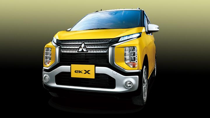 eK X, Mobil Baru Mitsubishi Bertampang Kombinasi Xpander dan Delica