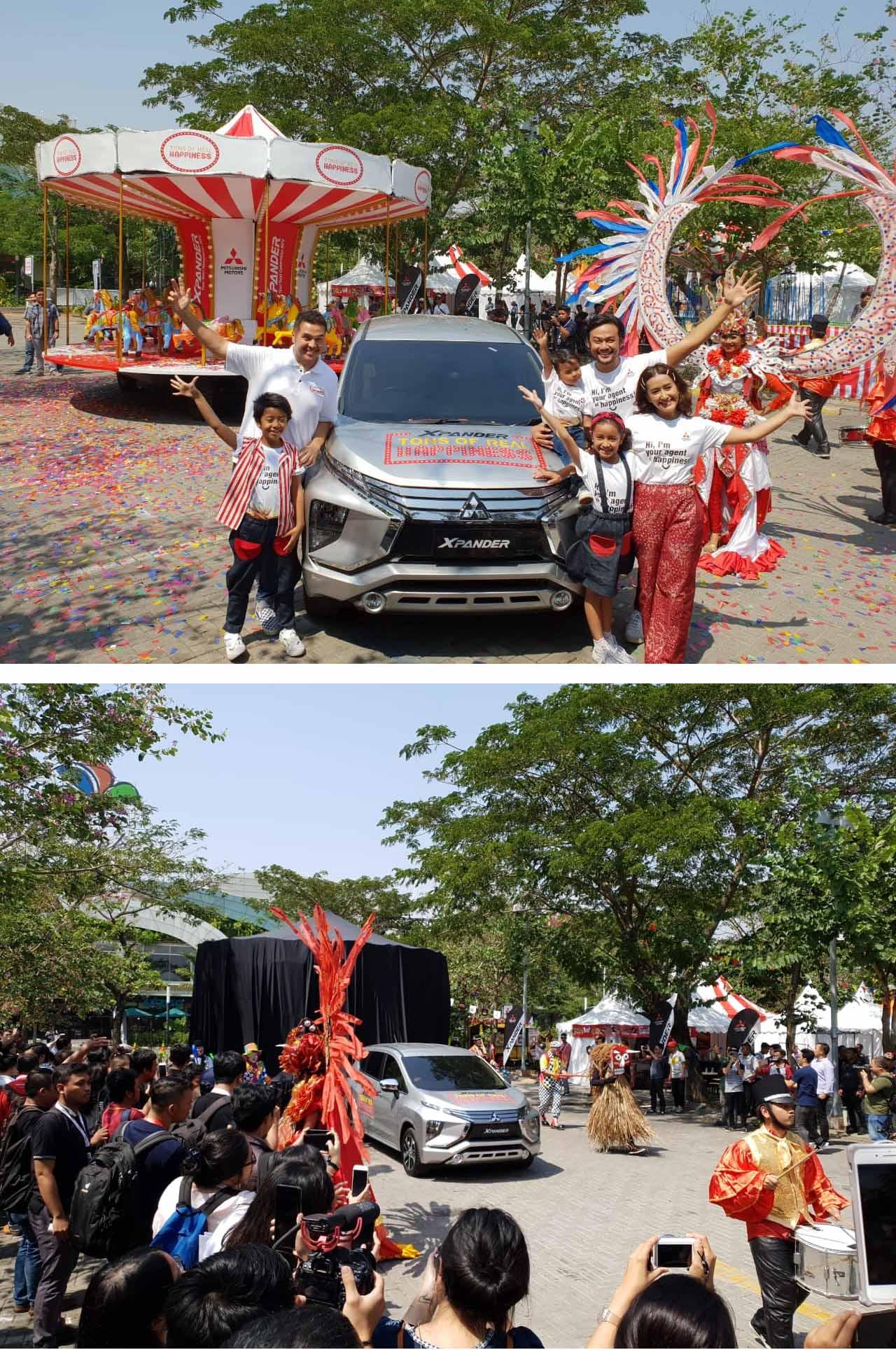 """Xpander Mulai Bagikan """"Tons of Real Happiness"""" di 9 Kota di Indonesia"""