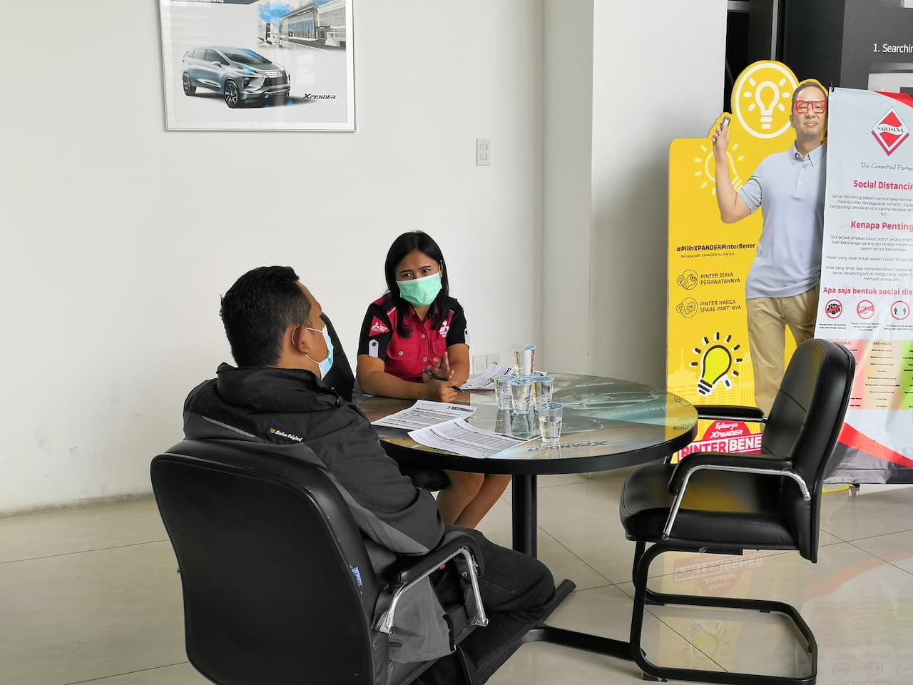 Area Konsultasi Customer