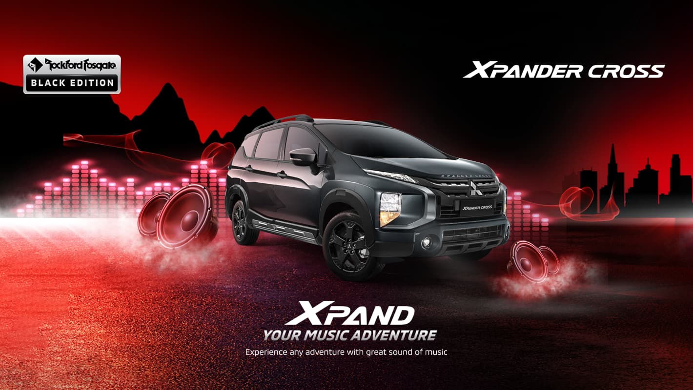 Mitsubishi Xpander Cross RF Black Edition